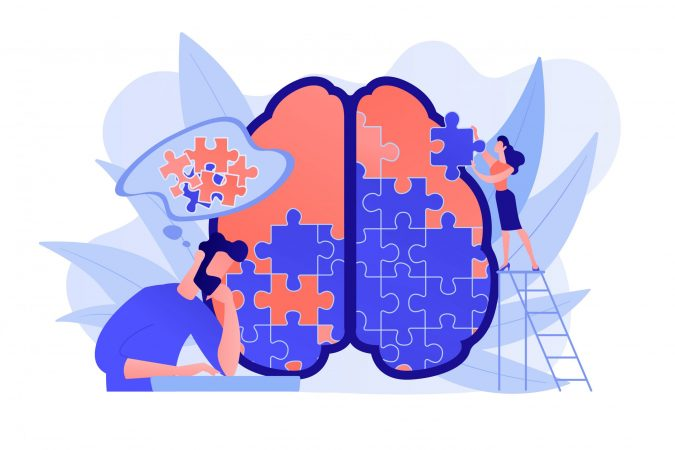 Psychotherapy concept vector illustration.