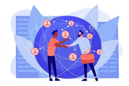 International business concept vector illustration.